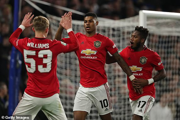 Two Marcus Raahford goals sends Manchester United into the quarter final of Carabao cup.