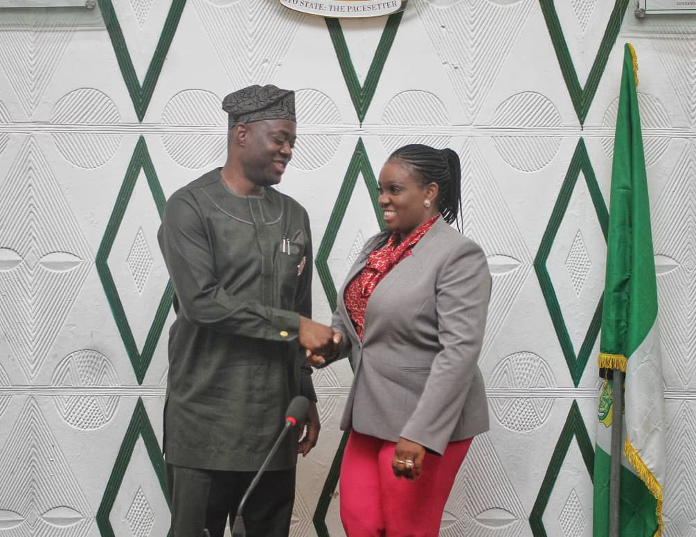 Gov. Seyi Makinde appoints wife as head of agency for AIDS control.