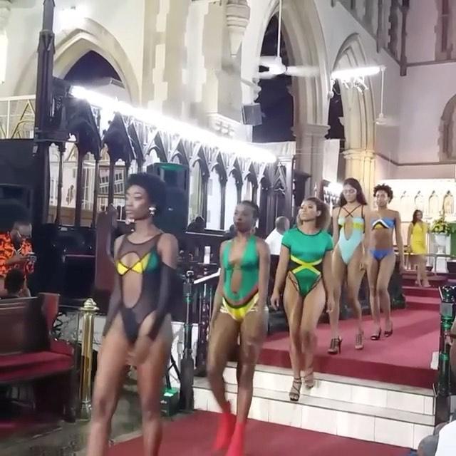 Uproar as Trinidad and Tobago church organize fashion parade.