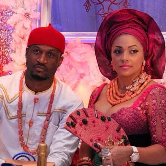 Peter Okoye and wife Lola celebrate 6th wedding anniversary.