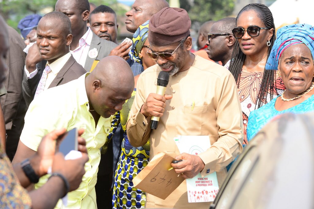 Femi Gbajabiamila Gives Cars, Laptops, Photocopiers To His Constituents.