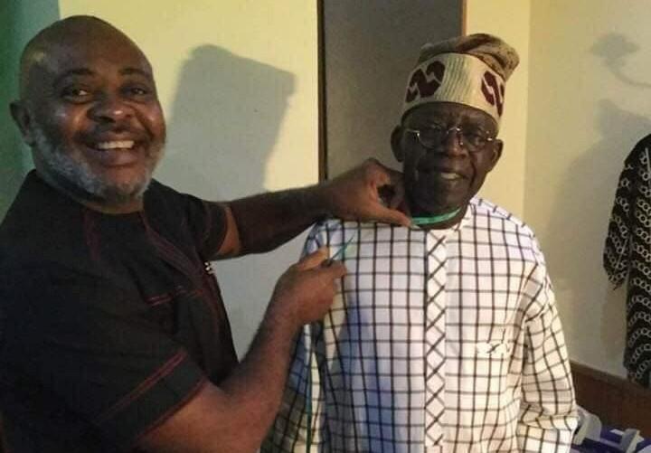 Meet Bola Tinubu's Official Tailor, The Versatile Emeka Opara