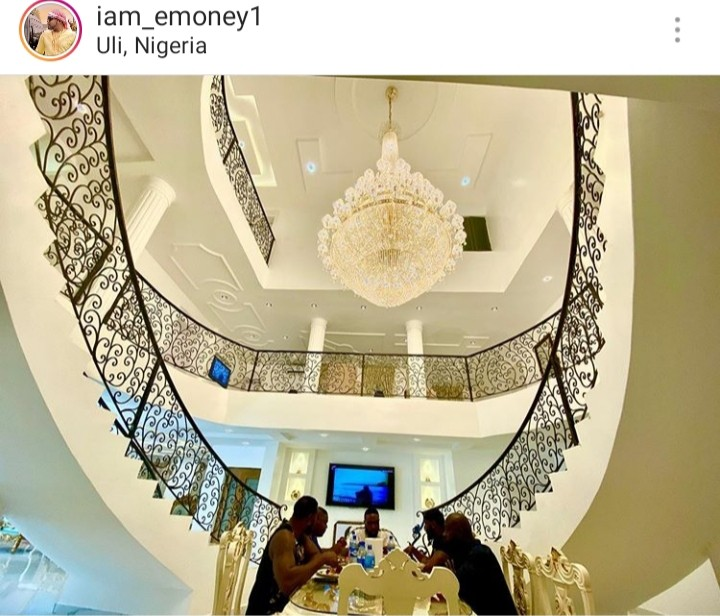 Emoney Shows The Interior Of His Mansion In Anambra