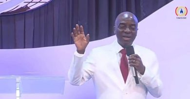 """""""Noisemakers Don't Last, Only Newsmakers Do"""" Bishop Oyedepo"""