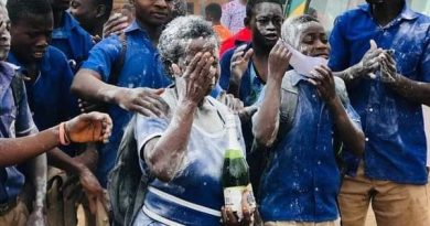 56-Year-Old Woman Celebrates Junior Secondary School Graduation In Style